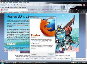 Image Firefox 3.5 RC 2
