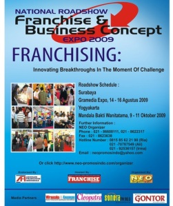 Poster Franchise & Business Concept Expo 2009