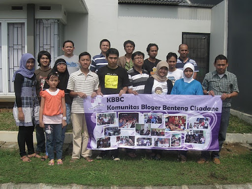 Halal Bihalal Komunitas Bloger Benteng Cisadane(KBBC)